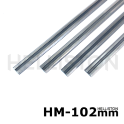 HM/ TCT Planer Blades, Reversible knives 102 mm, hard metal (Tungsten carbide), double-sided, for electrical planers, AEG, Atlas-Copco EH102, HB750, HBE800, B39 etc