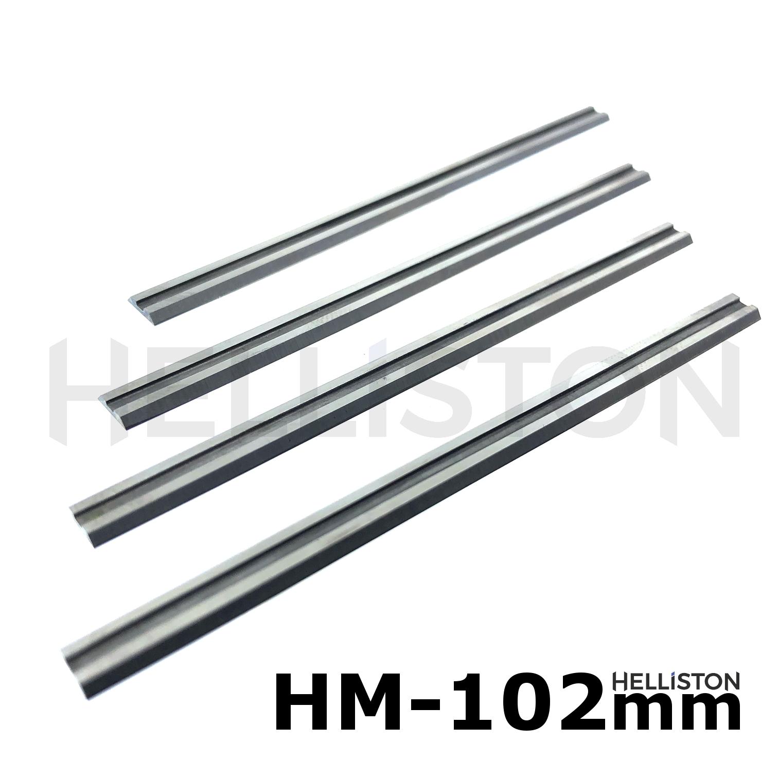 Hobelmesser f/ür Elektro Hobel Skil 400W 4 St/ück HM Wendemesser
