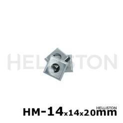 HM Plaquettes carbure réversibles 14x14x2.0mm pour porte-outils hélicoïdal