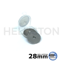 Replacement Spare blades for rotary cutter 28mm Olfa, Fiskars, Dremel, Dafa, Martelli, TrueCut, rotary cutter blades, fabric, cloth, leather, quilting, quilters, round wheel blade, sharp, replacement blade, patchwork blade, Helliston blades, japanese steel sks-7, very, extrem, sharp