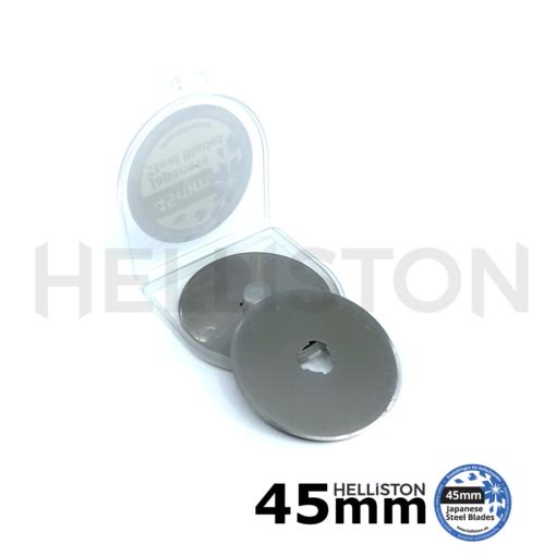 Lames de rechange 45mm pour couteau/ cutter rotatif (pour Olfa, Fiskars, Dremel, Dafa, Martelli, TrueCut, Prym etc.)