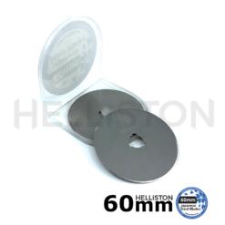 Lames de rechange 60mm pour couteau/ cutter rotatif, 10 pc (pour Olfa, Fiskars, Dremel, Dafa, Martelli, TrueCut, Prym etc.)